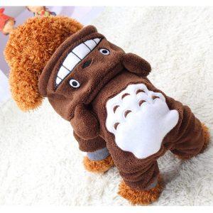 Xiaoyu Welpe Hundehund Haustier Kleidung Kapuzenjacke Pullover Warmer Pullover Welpe Welpe Herbst Wintermantel Doggy Mode Overall Jumpsuit Bekleidung