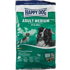 Happy Dog Hundefutter Supreme Fit and Well Medium Adult